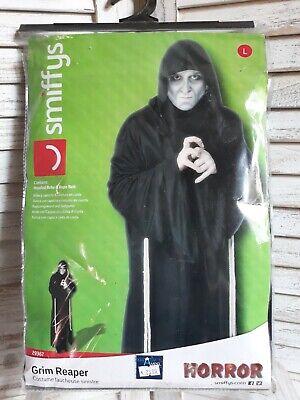 Kostüm Grim Reaper Herren Gr L 52 54 - Herr Tod Halloween Kostüm