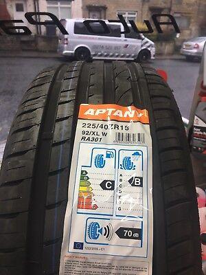 APTANY 225 40 ZR18  92W XL Brand New (1 x Tyre) 225/40R18 RA301 2254018