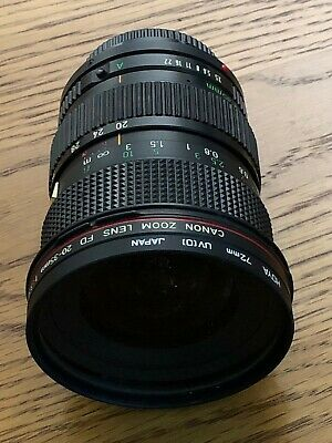 Canon Lens - FD 20-35mm
