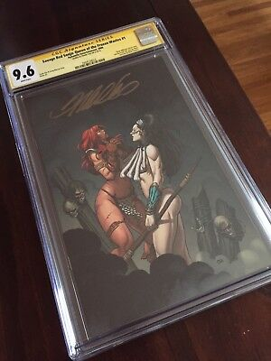 Red Sonja Queen of Frozen Waste 1 CGC 9.6 ss Frank Cho Signed! MovieAnnounced - Red Queen Movie