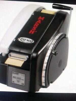 Marsh Tdh 2100 With Heater Gummed Tape Dispenser W Heater Combo Pak Kraft Tape