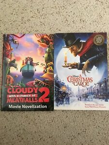 (Cloudy with a chance of meatballs 2) & (A Christmas Carol)