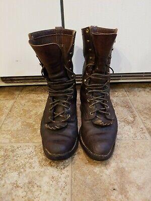 Hathorn BOOT MFG Spokane WA Boots Mens Sz-7.5 EE