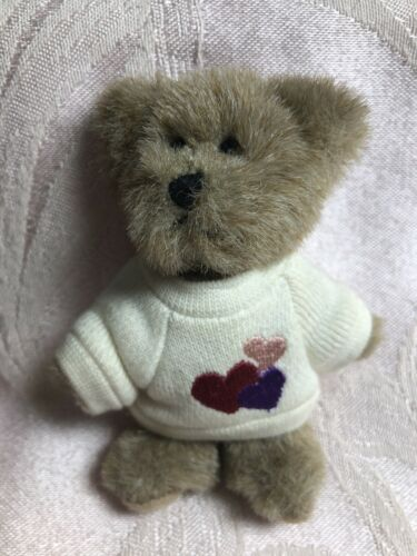 Boyds Bears Plush Mini Message Bear Lottsa Luv - $24.50