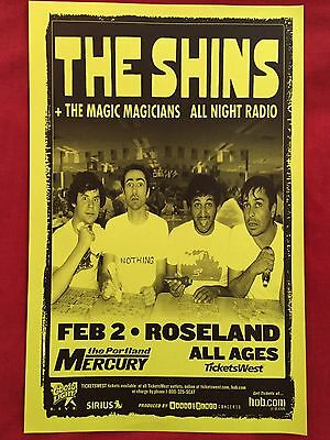 THE SHINS Original Concert Poster Gig Flyer Portland