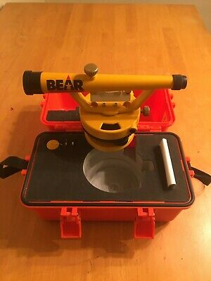 Builders Survey Level 20x Magnification Wcase New By Bear Scientific