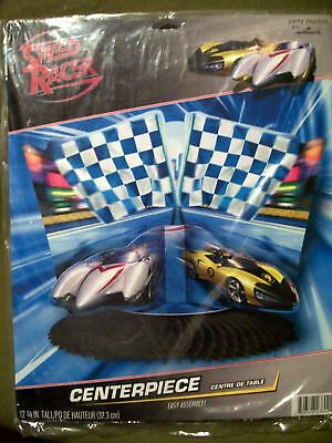 PARTY EXPRESS ITEMS SPEED RACER CENTERPIECE SEALED BY HALLMARK - Party Items