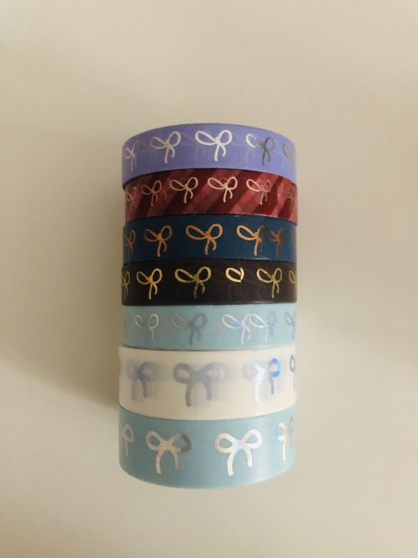 Lot Of 7 Simply Gilded Washi Tape - Used (lot2)