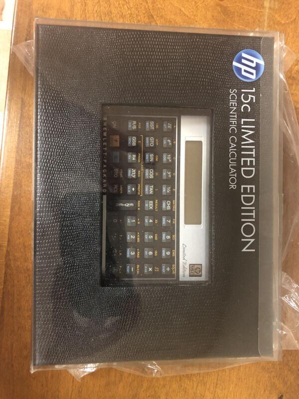 HP 15C LIMITED EDITION SCIENTIFIC CALCULATOR - BRAND NEW