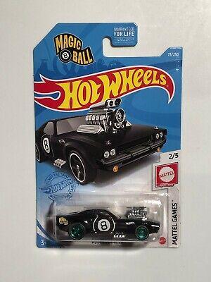 Hot Wheels Magic 8 Ball Rodger Dodger CUSTOM  w/Real Riders  & Green Rims