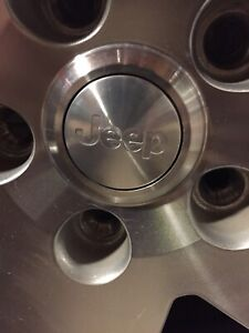 Five 18 inch Jeep Wrangler Rims
