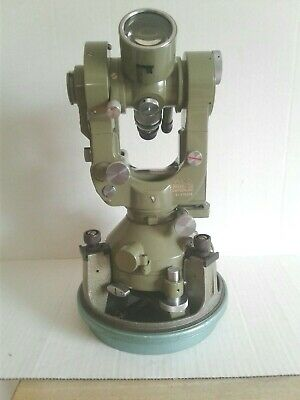 Wild Heerbrugg T2 Theodolite With Bullet Case Original Carrying Case 179308