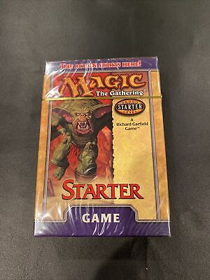 MTG Starter Level Game (WOTC) 1999 Richard Garfield NEW factory sealed