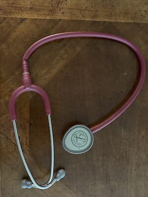 3m Littmann Lightweight Ii Se Stethoscope Pink Red Coral
