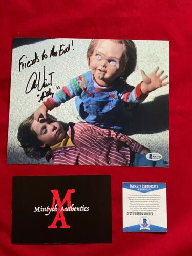 ALEX VINCENT AUTOGRAPHED SIGNED 8x10 PHOTO! CHILD'S PLAY! ANDY! BECKETT COA!