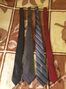 Four (4) Men's Ties
