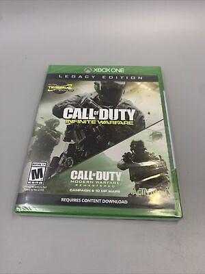 Call of Duty Infinite Warfare Legacy Edition Microsoft Xbox One Brand New Sealed