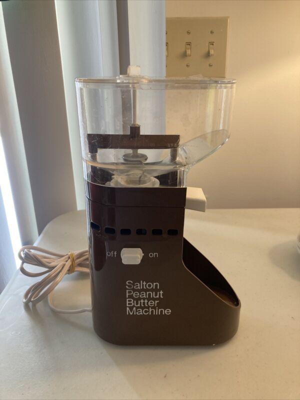 Vintage Salton Peanut Butter Machine Model PB-5