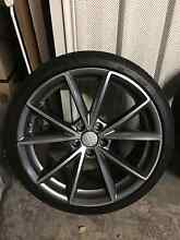 Audi RS4 replica wheels 19x8.5 and tyres 235/35/19 Eveleigh Inner Sydney Preview
