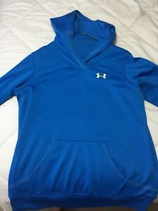 Blue Under Armour hoodie - Size L