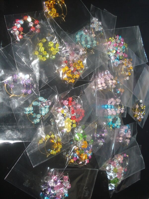 LOT OF 6 PAIRS OF MIXED VARIETIES OF EARRINGS (USA SELLER)M-1*ME
