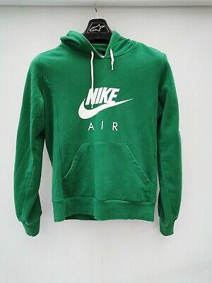 Nike Air Mens Hooded Jumper Size Medium Men's Green Hoodie Sweater Top M Hoody