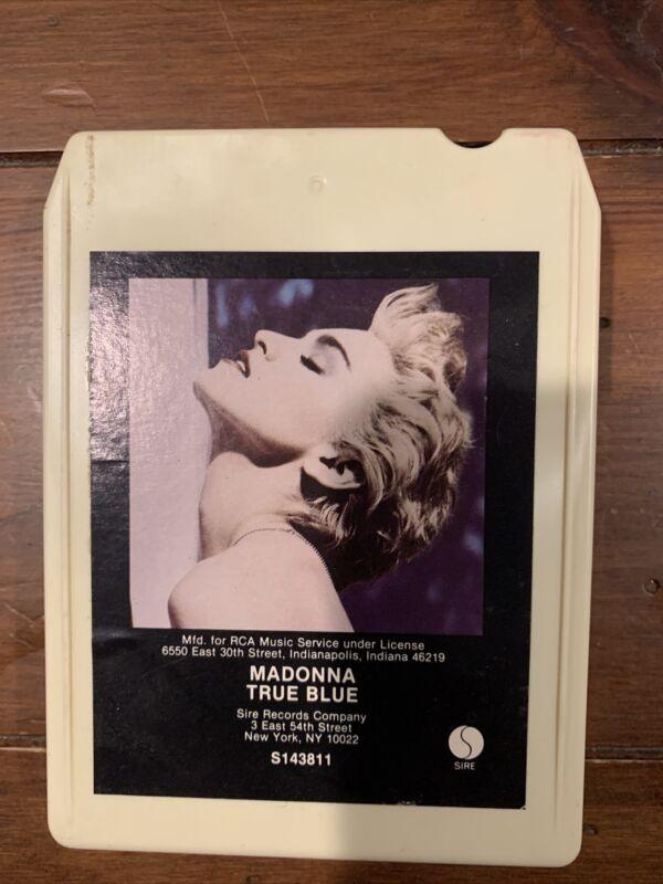 Madonna True Blue RARE 8-Track Tape RCA Record Club 1986 Sire S143811 Canada