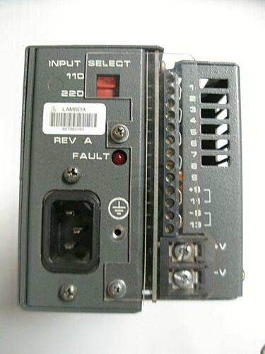 Lambda Electronics Inc. LMS-6120 Regulated Power Supply 0-120 VDC Output