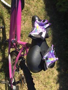 Gants de vélo pour jeune fille