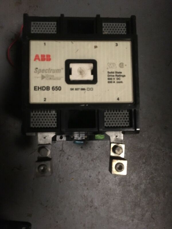ABB EHDB650 Motor Contactor