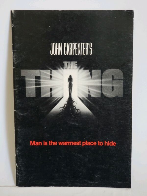 The Thing John Carpenter Promotional Theatrical Program Booklet 1982
