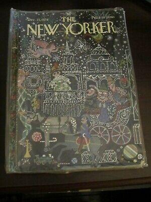 New Yorker Magazine November 1987 Steig Christmas Toy -