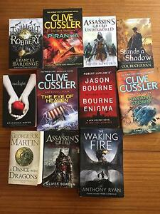 Fiction books Maroubra Eastern Suburbs Preview