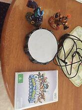 Wii Skylanders swap force game - porthole and two Skylanders Beresfield Newcastle Area Preview