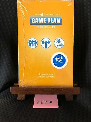 Beachbody Game Plan - Business Tools - CD & DVD Fitness Training Shakeology! NEW