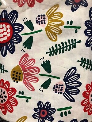 SOMMARASTER FLORAL- IKEA Cotton Fabric NEW 25 YARDS-BTY- DRAPERY WEIGHT