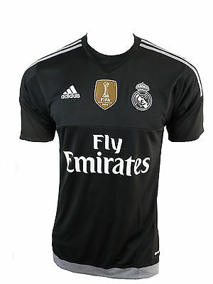 Adidas Real Madrid GK Trikot WC schwarz Gr.S (Real Madrid Wc)
