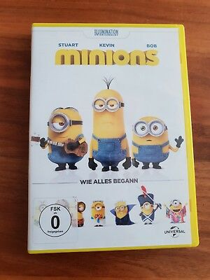 Minions DVD - Der Film - Wie Alles begann fsk ab 0 2015 wie neu (Der Film Minions)