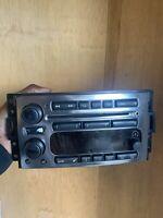 Hummer H3 factory radio