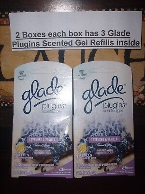 Air Fresheners 2 Boxes with 3