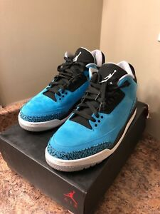 "Air Jordan 3 ""Powder Blue"""