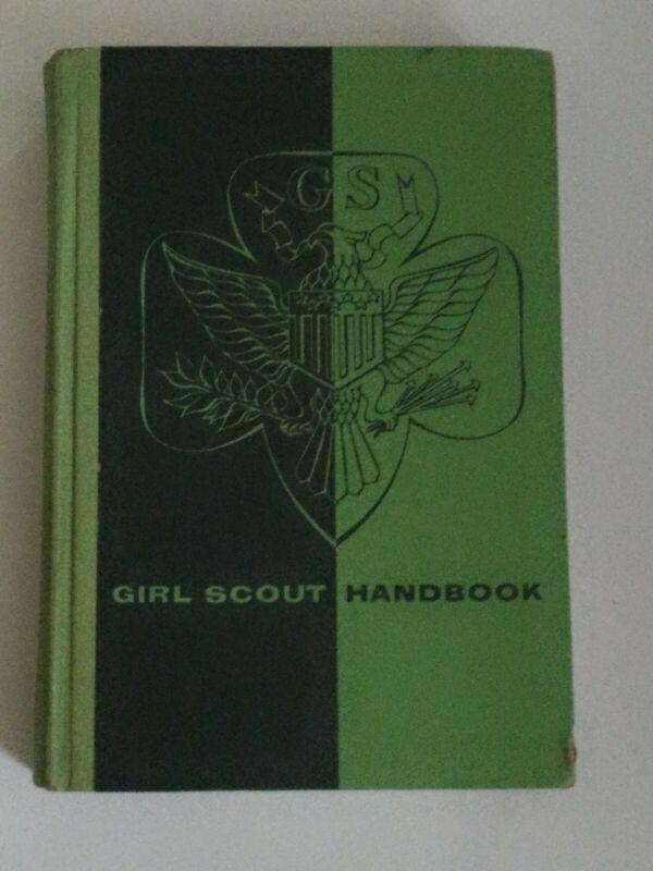Vintage 1963 Girl Scout Handbook