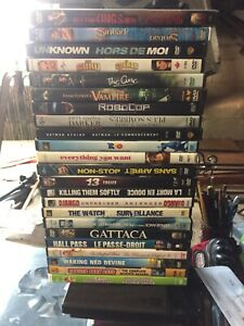 DVDs and VHSs