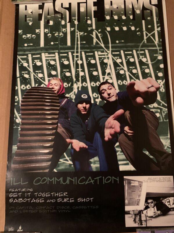 BEASTIE BOYS - Ill Communication original promotional poster 1994 Grand Royal