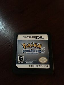 Pokémon soulsilver version ds