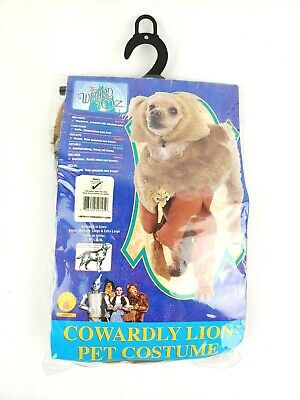 Rubies Cowardly Lion Dog Costume Size Small - Dog Cowardly Lion Costume