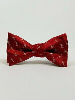 wtie Co Firma ~ Rot Weiß Verstellbar Custom Handgemacht ~ Bx (Rot Bowtie)
