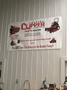 Country clipper zeroturn mowers