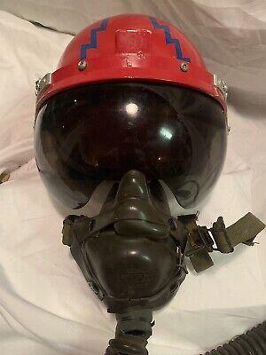 US Airforce Flight Helmet W/ Oxygen Mask Korean War Era