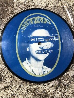 sex pistols, god save the queen, vinyl picture disc, limited . French Repro